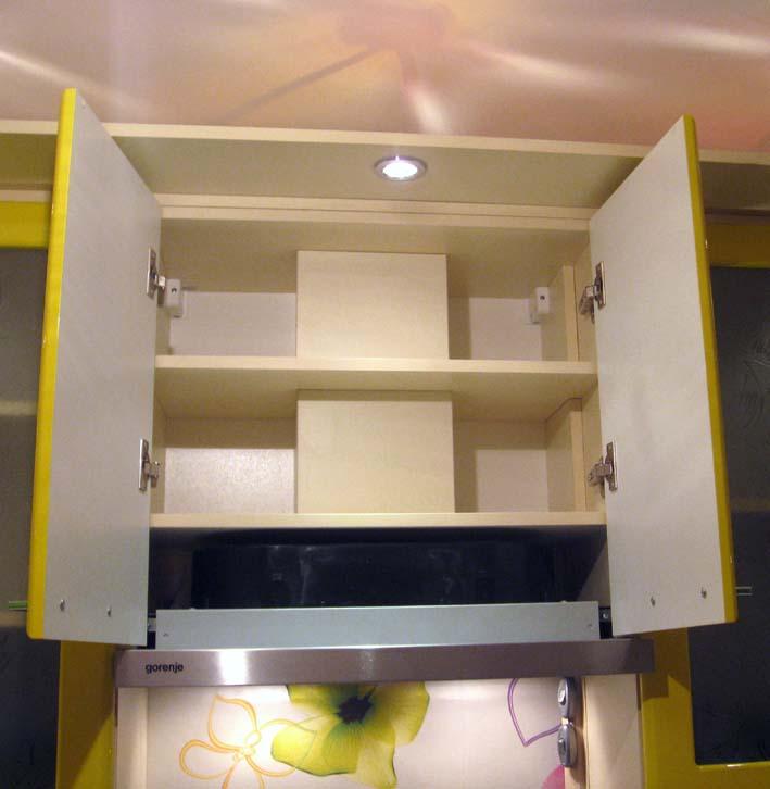 Как сделать отверстие в шкафу под вытяжку